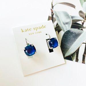 🌺🌺Kate Spade Shine On Leverback Earrings Blue